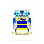 Goretti Sticker (Rectangle 50 pk)