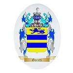 Goretti Ornament (Oval)