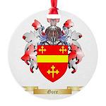 Gore Round Ornament