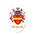 Gore Oval Car Magnet
