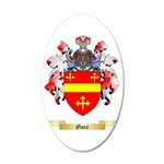 Gore 35x21 Oval Wall Decal