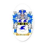 Gorcke Oval Car Magnet
