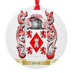 Gorb Round Ornament