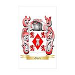 Gorb Sticker (Rectangle 50 pk)