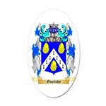 Goolsby Oval Car Magnet