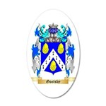 Goolsby 35x21 Oval Wall Decal