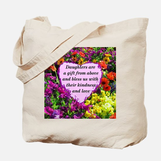 BLESSED DAUGHTER Tote Bag