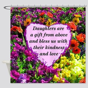 BLESSED DAUGHTER Shower Curtain