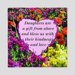 BLESSED DAUGHTER Queen Duvet