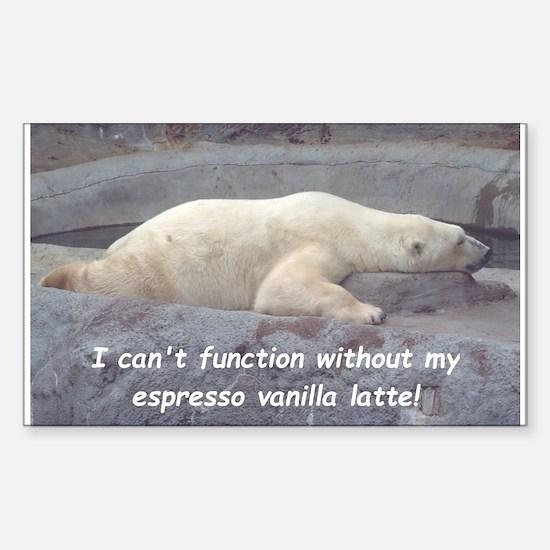 Espresso Vanilla Latte! Decal