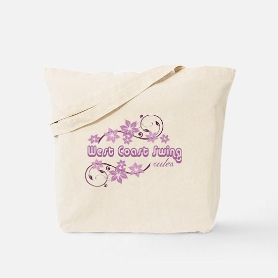 Cute West coast swing Tote Bag