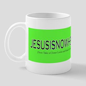 JESUSISNOWHERE Mug