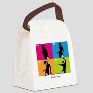 WTFIpodSpoof-CafePress Canvas Lunch Bag