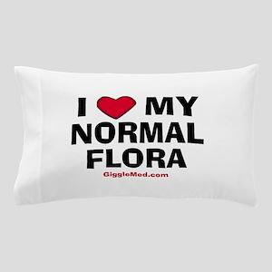 i-love-normal-flora-02 Pillow Case