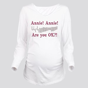 annie-acls-03 Long Sleeve Maternity T-Shirt