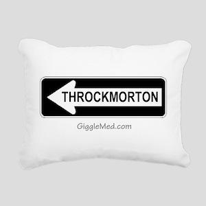throckmorton-02 Rectangular Canvas Pillow