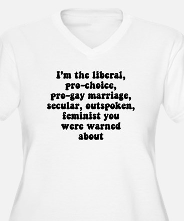 I'm The Feminist... Plus Size T-Shirt