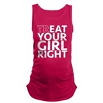 trEAT Your Girl Right Maternity Tank Top