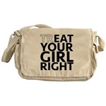 trEAT Your Girl Right Messenger Bag