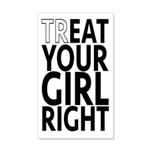 trEAT Your Girl Right 20x12 Wall Decal