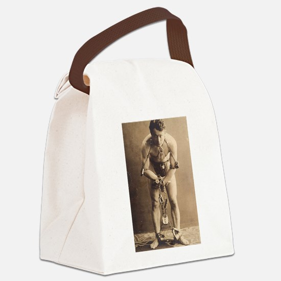 harry houdini Canvas Lunch Bag