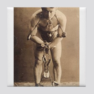 harry houdini Tile Coaster