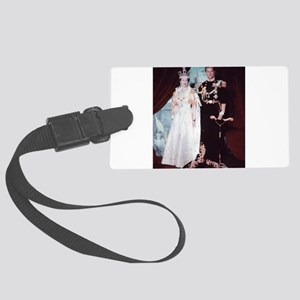 queen elizabeth the second Luggage Tag