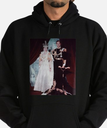 queen elizabeth the second Hoodie