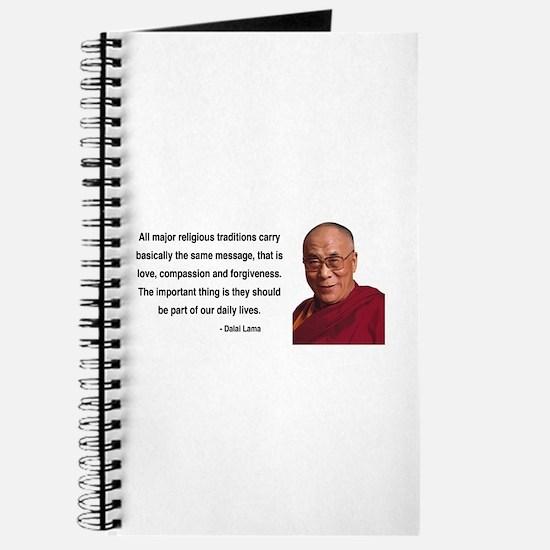 Dalai Lama 5 Journal
