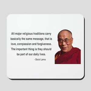 Dalai Lama 5 Mousepad