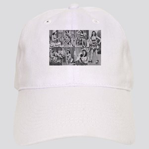 b8486502d05 bettie page Baseball Cap