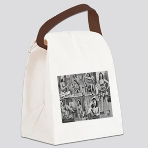 bettie page Canvas Lunch Bag
