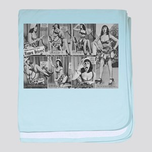 bettie page baby blanket