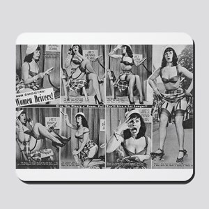 bettie page Mousepad