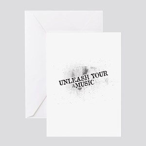 Unleash your Music Greeting Cards