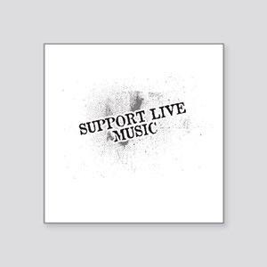 Support Live Music Sticker