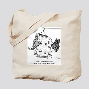 Moth Cartoon 3152 Tote Bag