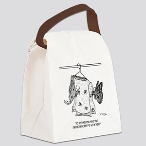 Moth Cartoon 3152 Canvas Lunch Bag