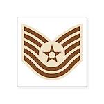 "Desert Military Insignia Square Sticker 3"" X"