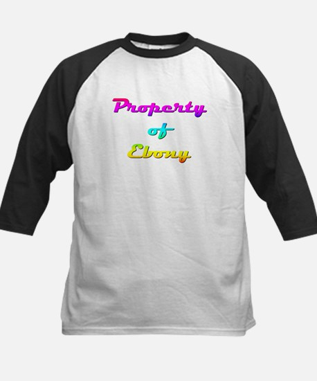 Property Of Ebony Female Tee