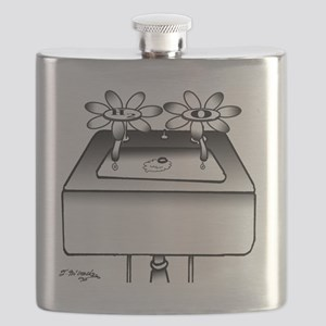 Chemistry Cartoon 2410 Flask