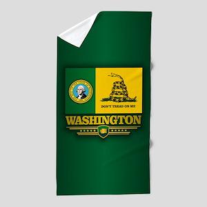 Washington DTOM Beach Towel
