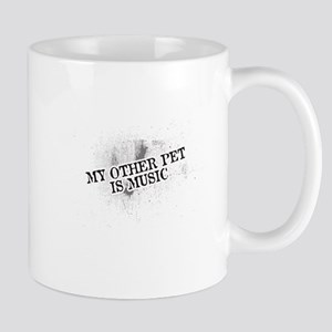 My Other Pet Is Music Mugs