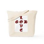 LOVE GOD -CROSS- CHRISTIAN BIBLE Tote Bag