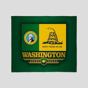 Washington DTOM Throw Blanket
