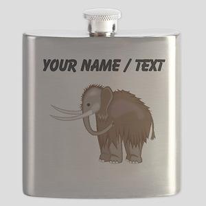 Woolly Mammoth (Custom) Flask