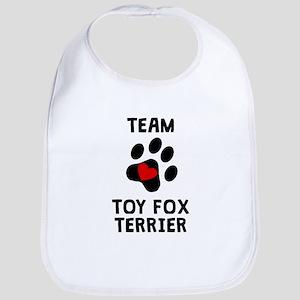 Team Toy Fox Terrier Bib