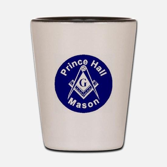 Prince Hall Mason Shot Glass