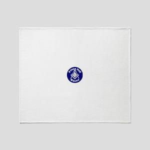 Prince Hall Mason Throw Blanket