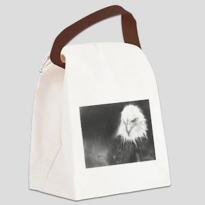 Eye Spy Bald Eagle Canvas Lunch Bag